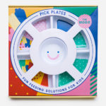 Round Divided Plate for Picky Eaters